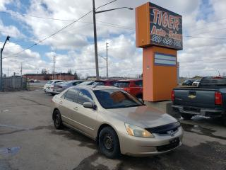 Used 2005 Honda Accord EX-L**RUNS GREAT**LEATHER**AUTO**4 CYLINDER*AS IS for sale in London, ON