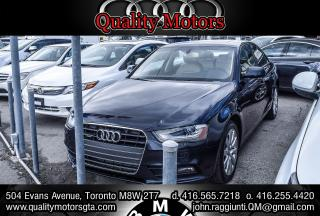 Used 2013 Audi A4 for sale in Etobicoke, ON