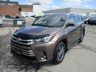 Used 2017 Toyota Highlander XLE~NAV.~BSM~LDA~7 PASS.~LEATHER for sale in Toronto, ON