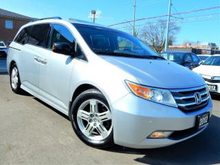Used 2012 Honda Odyssey TOURING.NAVI.CAMERA.PARK ASSIST.BSM.TV/DVD.8PASS for sale in Kitchener, ON