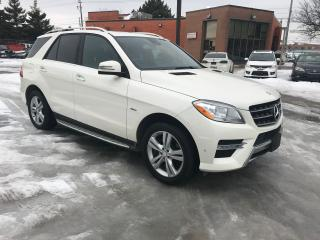 Used 2012 Mercedes-Benz ML 350 DIESEL,65K,NO ACCIDENT,SAFETY+3YEARS WARRANTY INCL for sale in Toronto, ON
