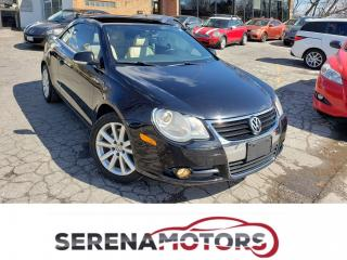 Used 2008 Volkswagen Eos TRENDLINE | MANUAL | LEATHER | HEATED SEATS for sale in Mississauga, ON