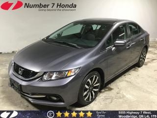 Used 2014 Honda Civic Touring|Loaded, Leather, Navi! for sale in Woodbridge, ON