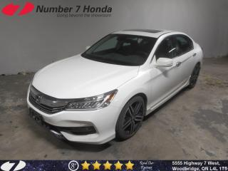 Used 2017 Honda Accord Touring|Loaded, Leather, Navi! for sale in Woodbridge, ON