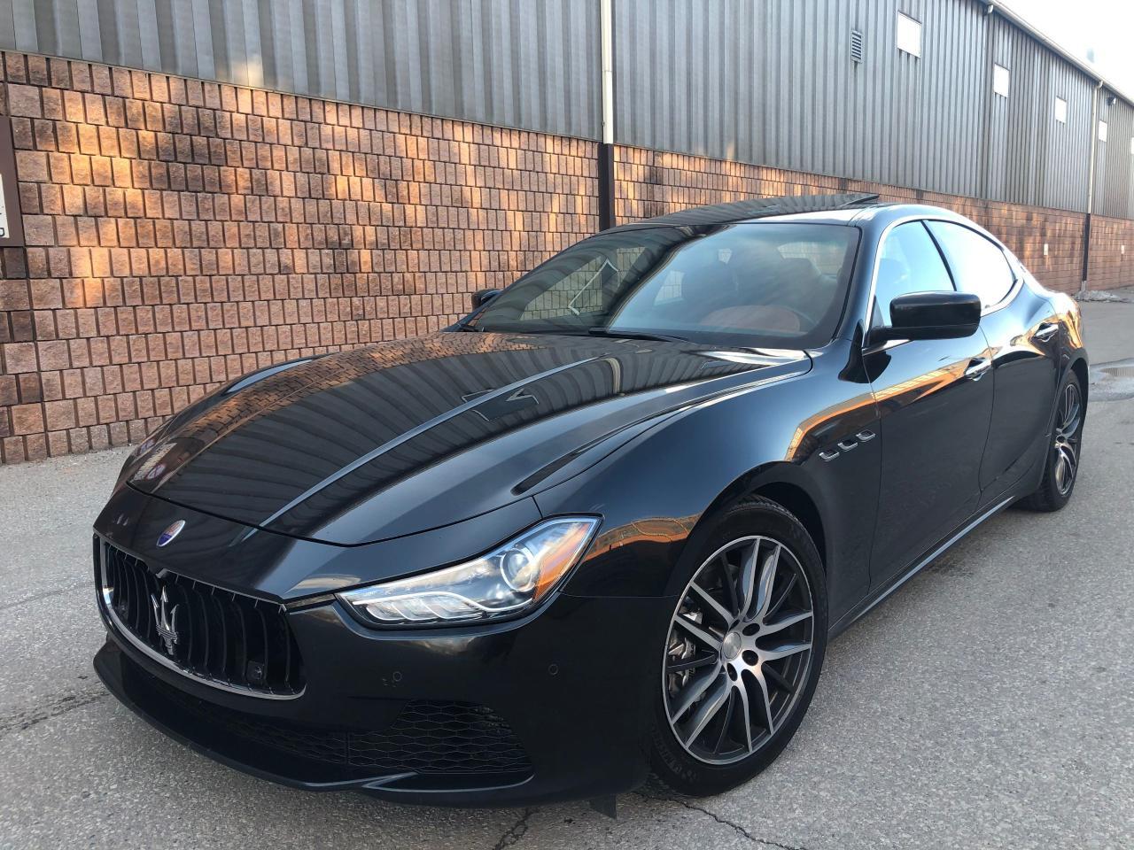 2014 Maserati Ghibli S Q4 SQ4 - AWD - NAVI - CAMERA - REMOTE START - 1 OWNER