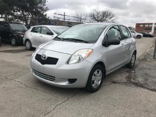 Used 2007 Toyota Yaris ONLY99KM,AUTO,H/B,SAFETY+3YEARS WARRANTY INCLUDED for sale in Toronto, ON