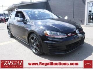Used 2015 Volkswagen GTI 2D Hatchback for sale in Calgary, AB