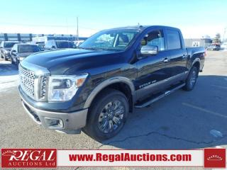 Used 2018 Nissan Titan Platinum Crew CAB 4WD 5.6L for sale in Calgary, AB