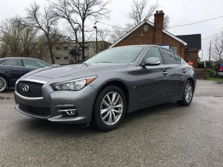 Used 2015 Infiniti Q50 *HEATED SEATS*NAVI*POWER SUNROOF* for sale in London, ON