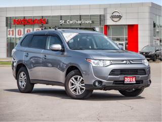 Used 2014 Mitsubishi Outlander 4WD ES for sale in St. Catharines, ON