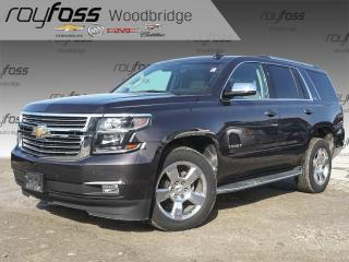 Used 2016 Chevrolet Tahoe LTZ NAV, SUNROOF, DVD, LOW K for sale in Woodbridge, ON