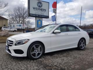Used 2015 Mercedes-Benz C 300 4MATIC for sale in Cambridge, ON