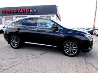 Used 2014 Lexus RX 350 AWD F-SPORT NAVIGATION CAMERA CERTIFIED 2YR WARRANTY for sale in Milton, ON