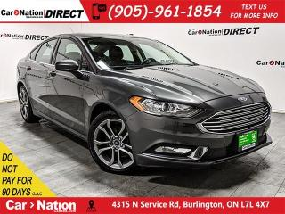 Used 2017 Ford Fusion SE| LEATHER-TRIMMED SEATS| SUNROOF| for sale in Burlington, ON