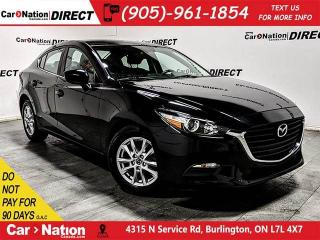 Used 2017 Mazda MAZDA3 SE| LEATHER| BACK UP CAMERA| PUSH START| for sale in Burlington, ON