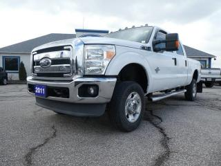 Used 2011 Ford F-350 Super Duty SRW XLT- 4X4- DEISEL 6.7L- F-350- LOW KM for sale in Essex, ON
