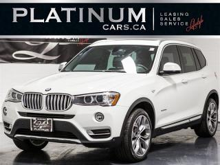 Used 2015 BMW X3 xDrive28d, NAVI, PANO, PREMIUM, Heated Leather for sale in Toronto, ON
