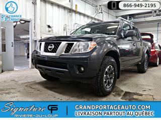 Used 2015 Nissan Frontier 4RM Cabine double SWB Auto PRO-4X + Cuir for sale in Rivière-Du-Loup, QC