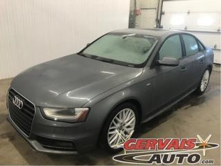 Used 2015 Audi A4 Komfort Plus S Line for sale in Trois-Rivières, QC