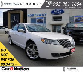 Used 2010 Lincoln MKZ | HTD LEATHER | SUNROOF | REMOTE START | for sale in Brantford, ON