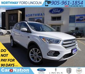 Used 2017 Ford Escape SE | AWD | PWR HTD SEATS | PANO ROOF | for sale in Brantford, ON