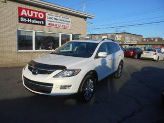 Used 2008 Mazda CX-9 GT AWD ** 7 PLACES ** NAVIGATION/GPS ** for sale in St-Hubert, QC