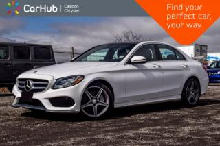 Used 2016 Mercedes-Benz C-Class C 300 4Matic Navi Pano Sunroof Backup Cam Bluetooth Blind Spot Heated Front Seats 17