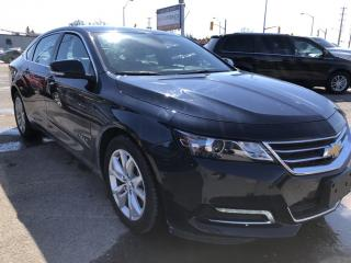 Used 2019 Chevrolet Impala 1LT Nice with BackupCam, Bluetooth, AUTOSTART, Pwr Seat and Keyless Entry! Dual Zone Air, Alloys, Pwr Wi for sale in Kemptville, ON