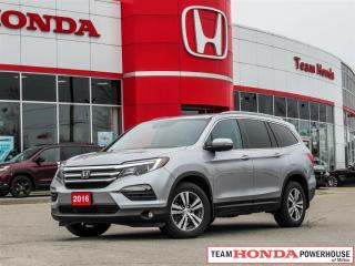 Used 2016 Honda Pilot EX-L RES EX-L-*1 OWNER|RES|LEATHER|SUNROOF|ALL SEASON MATS* for sale in Milton, ON
