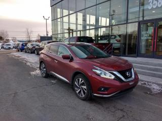 Used 2017 Nissan Murano PLATINUM AWD *GPS-TOIT-CAMÉRAS-CUIR* for sale in Lévis, QC