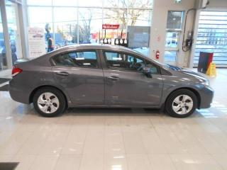 Used 2015 Honda Civic LX FWD for sale in Halifax, NS