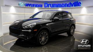 Used 2016 Porsche Cayenne GARANTIE + PREMIUM PACK + NAVI + TOIT for sale in Drummondville, QC