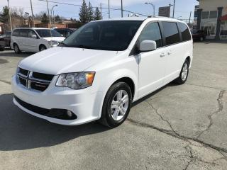 Used 2018 Dodge Grand Caravan Crew Plus 2RM for sale in Sherbrooke, QC