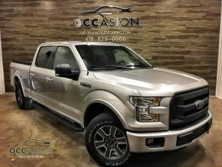 Used 2016 Ford F-150 SuperCrew 4x4 XLT SPORT FX4 5.0 V8 6.5' for sale in Ste-Brigitte-de-Laval, QC