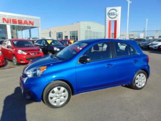 Used 2015 Nissan Micra SV * Automatique * 12 513km * for sale in Ste-Foy, QC