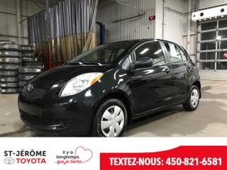 Used 2007 Toyota Yaris LE for sale in Mirabel, QC