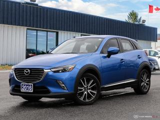 Used 2016 Mazda CX-3 GT,ONE OWNER,NAVI,REARVIEW CAM,PWR S/ROOF,LEATHER for sale in Barrie, ON