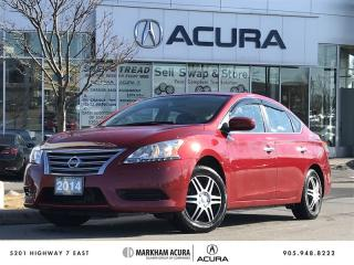 Used 2014 Nissan Sentra 1.8 SV CVT A/S Tires Avail, Navi, Backup Cam for sale in Markham, ON