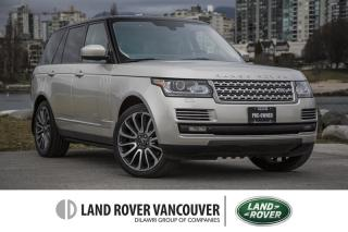 Used 2014 Land Rover Range Rover V8 Autobiography for sale in Vancouver, BC