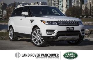 Used 2015 Land Rover Range Rover Sport V6 HSE *Certified Pre-Owned 6yr/160,000km Warranty! for sale in Vancouver, BC
