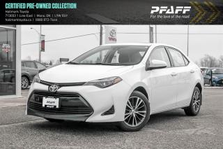 Used 2017 Toyota Corolla 4-door Sedan LE CVTi-S for sale in Orangeville, ON
