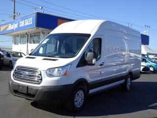 Used 2017 Ford Transit Cargo Van High Roof, Extended Version, Immediate Delivery OK for sale in Vancouver, BC