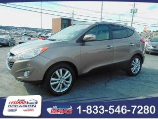 Used 2010 Hyundai Tucson AWD LIMITED CUIR / TOIT OUVRANT for sale in St-Georges, QC