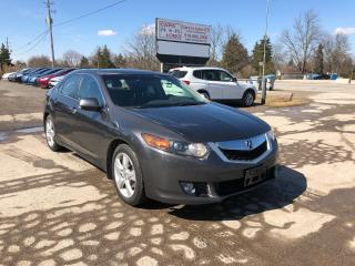 Used 2009 Acura TSX w/Tech Pkg for sale in Komoka, ON