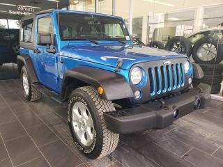 Used 2015 Jeep Wrangler SAHARA, NAVI, ACCIDENT FREE for sale in Edmonton, AB