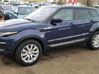 Used 2017 Land Rover Evoque SE; LOADED, BLUETOOTH, NAV, BACKUP CAM, LEATHER, MOON ROOF AND MORE for sale in Edmonton, AB
