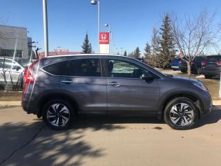 Used 2016 Honda CR-V Touring AWD Back Up Cam Navigation for sale in Red Deer, AB