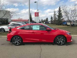 New 2019 Honda Civic Si Coupe Si Navigation Heated Seats Sunroof for sale in Red Deer, AB