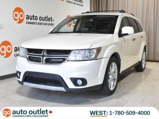 Used 2013 Dodge Journey Fully Loaded! R/T; AWD, Leather heated seats, DVD, Nav, Sunroof, Backup Camera, 3rd Row! for sale in Edmonton, AB