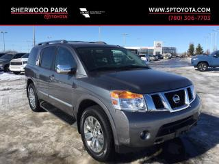 Used 2015 Nissan Armada Platinum Edition for sale in Sherwood Park, AB